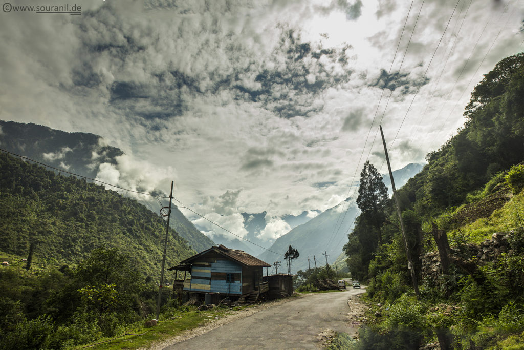 Sikkim Skyscape